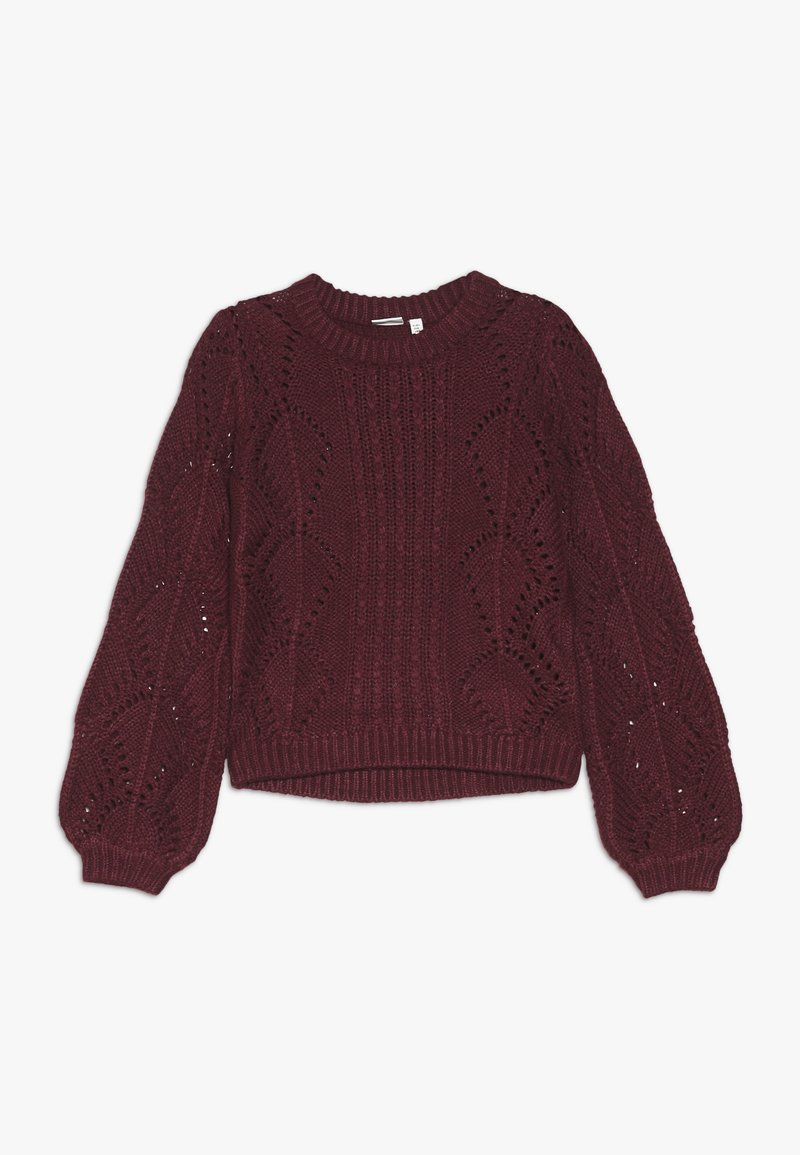 Name it - NANNIE  - Jumper - cabernet