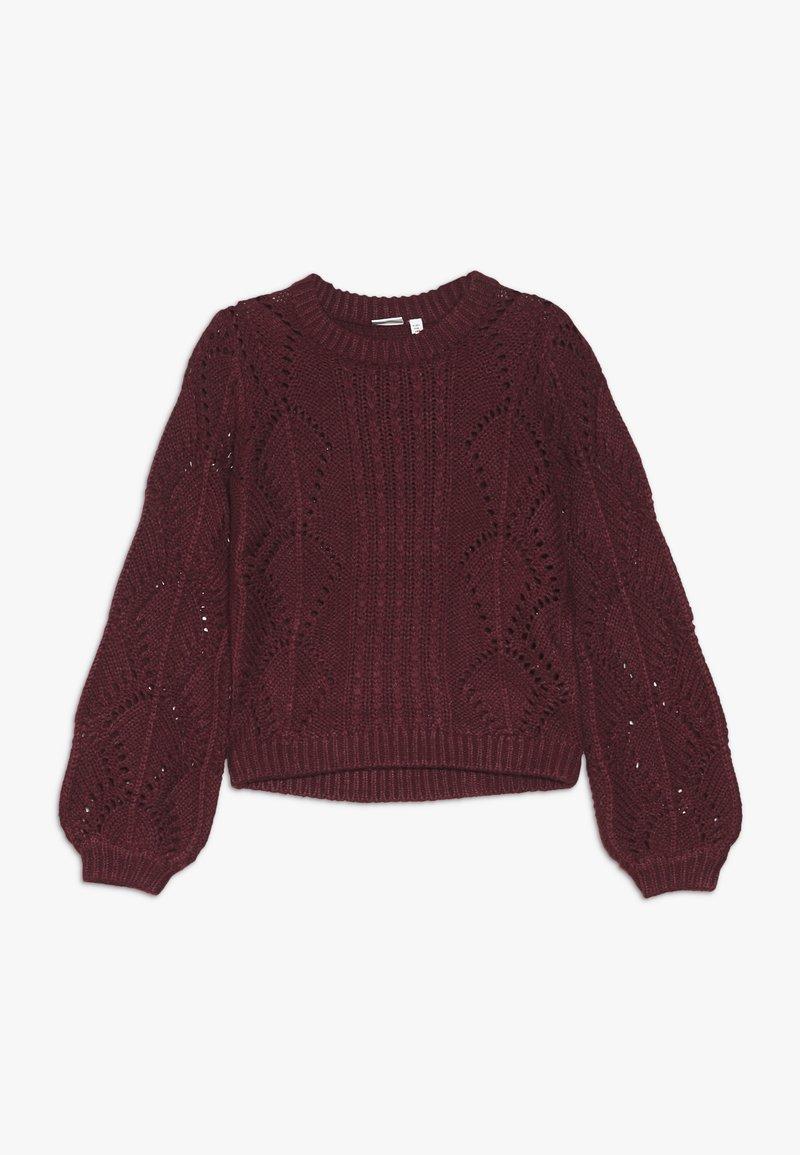 Name it - NANNIE  - Sweter - cabernet