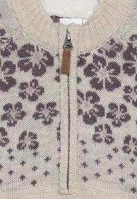 Name it - NKFWRISSA  - Stickad tröja - peyote - 3