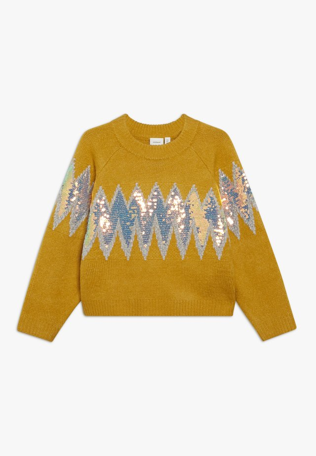 NKFRUBIE - Pullover - old gold