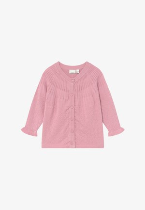 NBFTIFINE CARD - Cardigan - pink nectar