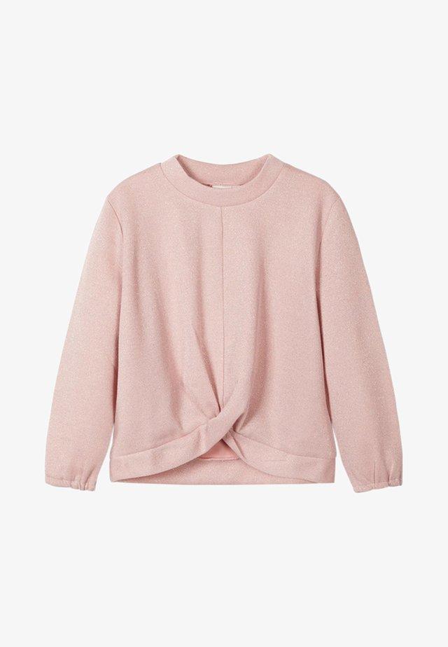 Trui - silver pink