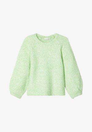 Strikpullover /Striktrøjer - pastel green