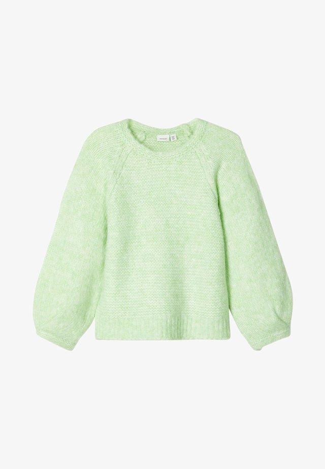 Neule - pastel green