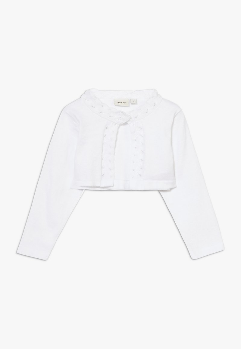Name it - NBFDINISA BOLERO - Kardigan - bright white