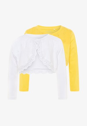 NBFFERIKA BOLERO 2 PACK - Strickjacke - bright white