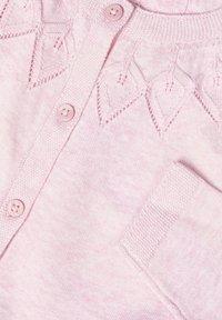 Name it - STRICKJACKE BAUMWOLL - Vest - pink nectar - 2