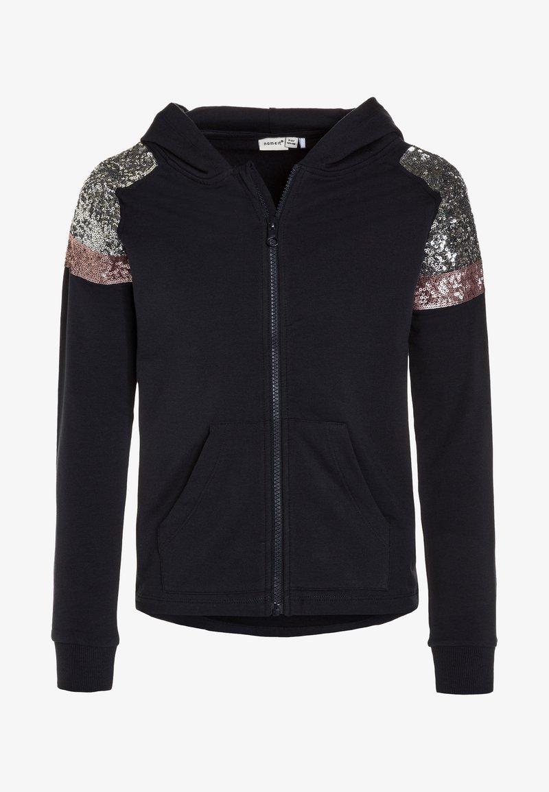 Name it - NKFORPA - veste en sweat zippée - dark sapphire