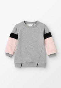 Name it - NMFSAFUR MINI - Sweatshirt - grey melange - 0