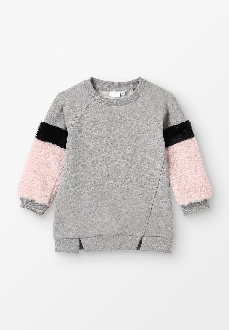Name it - NMFSAFUR MINI - Sweatshirt - grey melange
