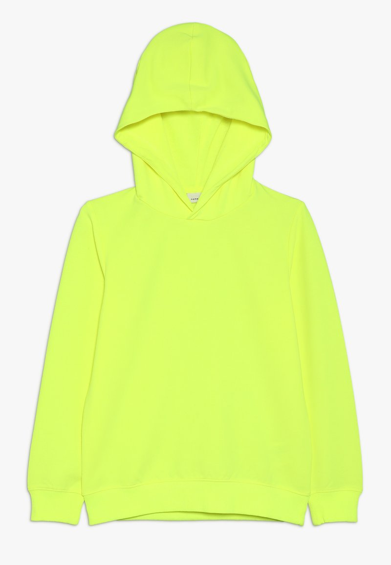 Name it - NKFLACAT HOOD - Hættetrøjer - safety yellow