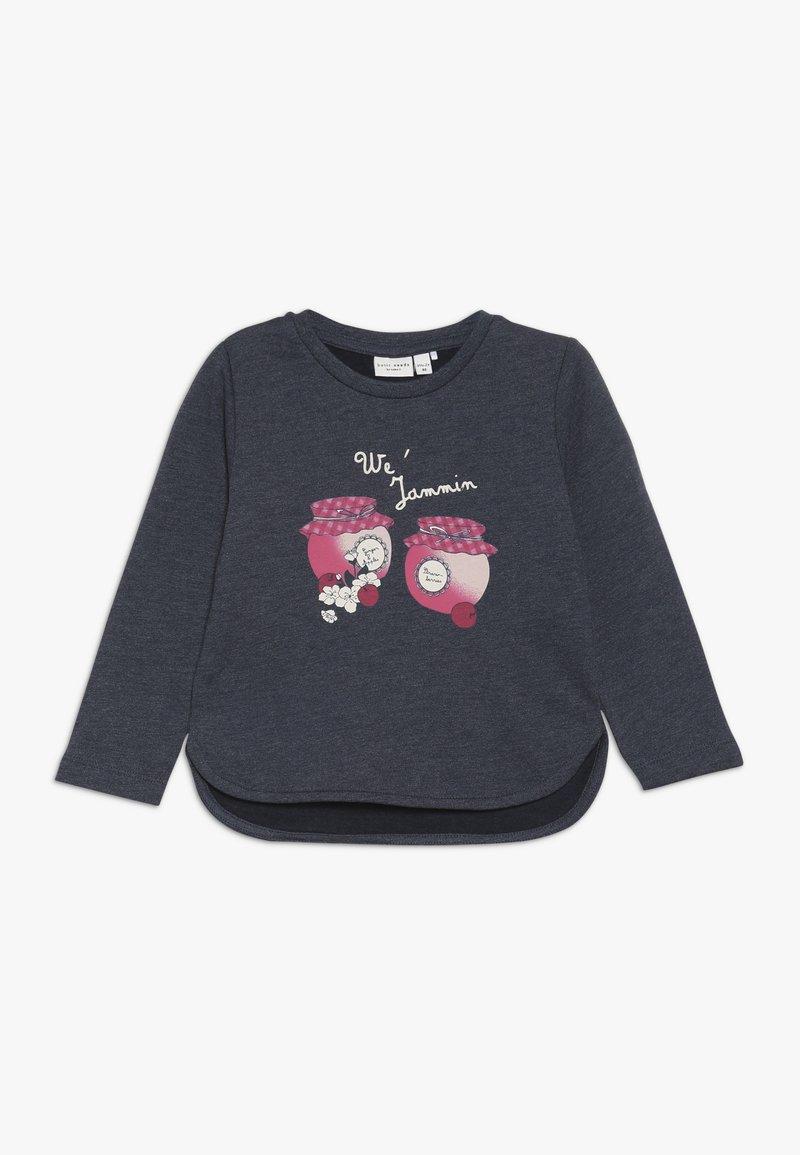 Name it - NMFVALBA  - Sweater - dark grey melange