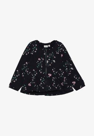 NMFNANNA CARD - Zip-up hoodie - dark sapphire