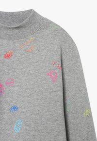 Name it - NKFOLASIA SHORT - Sweatshirt - grey melange - 3