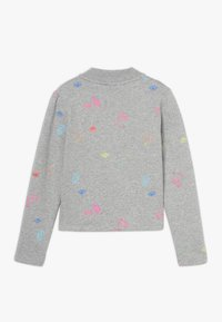 Name it - NKFOLASIA SHORT - Sweatshirt - grey melange - 1