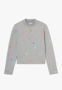 Name it - NKFOLASIA SHORT - Sweatshirt - grey melange - 0