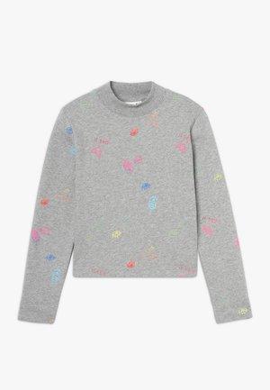 NKFOLASIA SHORT - Sweatshirt - grey melange