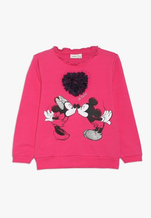 MICKEY MOUSE NMFMINNIE OLIVIA - Sweater - fuchsia purple