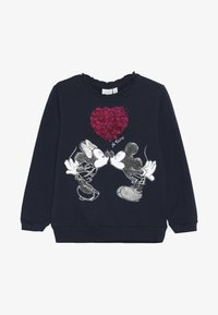 Name it - MICKEY MOUSE NMFMINNIE OLIVIA - Sweatshirt - dark sapphire - 2