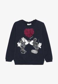 Name it - MICKEY MOUSE NMFMINNIE OLIVIA - Sweater - dark sapphire - 2