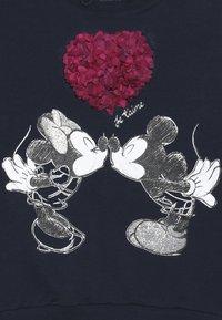 Name it - MICKEY MOUSE NMFMINNIE OLIVIA - Sweater - dark sapphire - 3