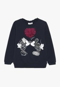 Name it - MICKEY MOUSE NMFMINNIE OLIVIA - Sweatshirt - dark sapphire - 0
