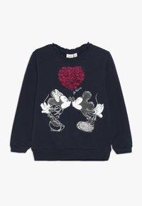 Name it - MICKEY MOUSE NMFMINNIE OLIVIA - Sweater - dark sapphire - 0