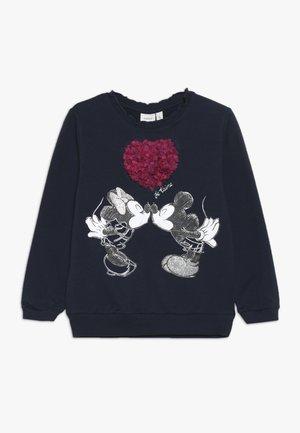 MICKEY MOUSE NMFMINNIE OLIVIA - Sweater - dark sapphire