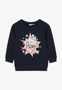 Name it - NMFRIJA LIGHT - Sweatshirt - dark sapphire - 2