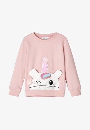 NMFTOPANDU BRU BOX - Bluza - pink