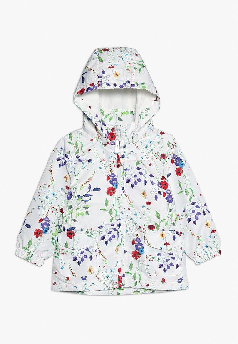 Name it - NMFMELLO JACKET FIELD FLOWER MINI - Overgangsjakker - snow white