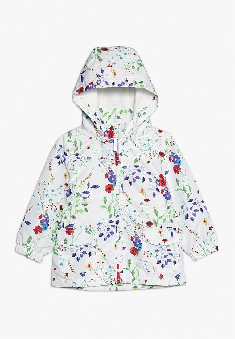 Name it - NMFMELLO JACKET FIELD FLOWER MINI - Allvädersjacka - snow white
