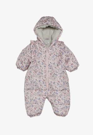 NBFMAY SUIT - Snowsuit - silver pink