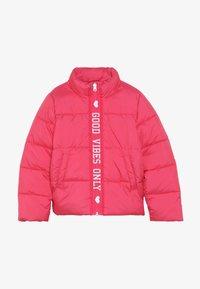 Name it - NKFMISTI ZIP JACKET - Zimní bunda - raspberry sorbet - 3