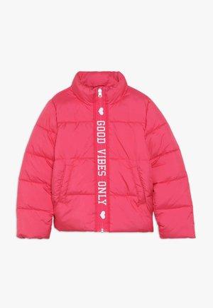 NKFMISTI ZIP JACKET - Zimní bunda - raspberry sorbet
