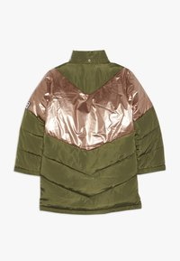 Name it - NKFMUSIC LONG PUFFER JACKET - Winter coat - winter moss - 2