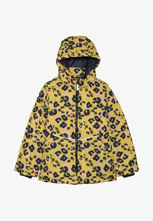 NKFMAXI JACKET LEO - Winter jacket - sulphur