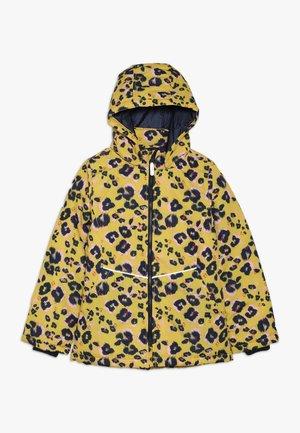 NKFMAXI JACKET LEO - Winter jacket - sulphur