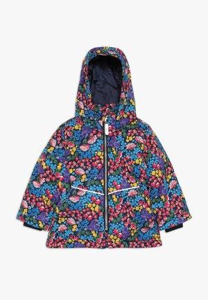NMFMAXI JACKET FLOWER FIELD - Winter jacket - dark sapphire