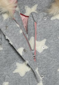 Name it - NMFMATILDA  COAT - Winter coat - grey melange - 3