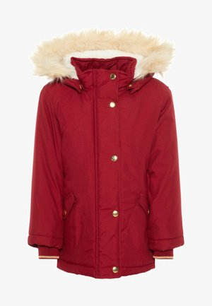 Winter coat - biking red
