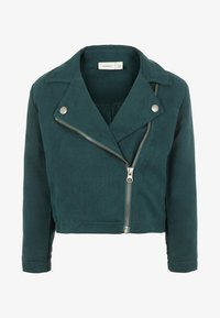 Name it - Faux leather jacket - green gables - 0