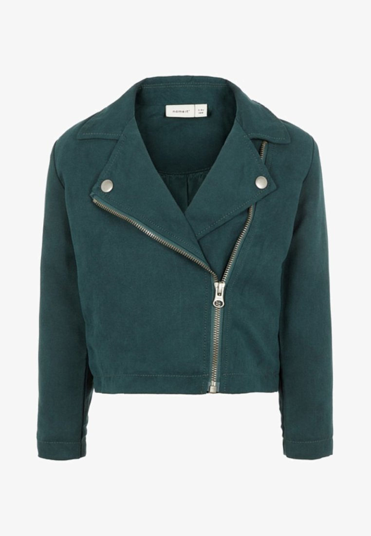 Name it - Faux leather jacket - green gables