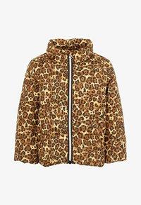Name it - Winter jacket - bronze brown - 0