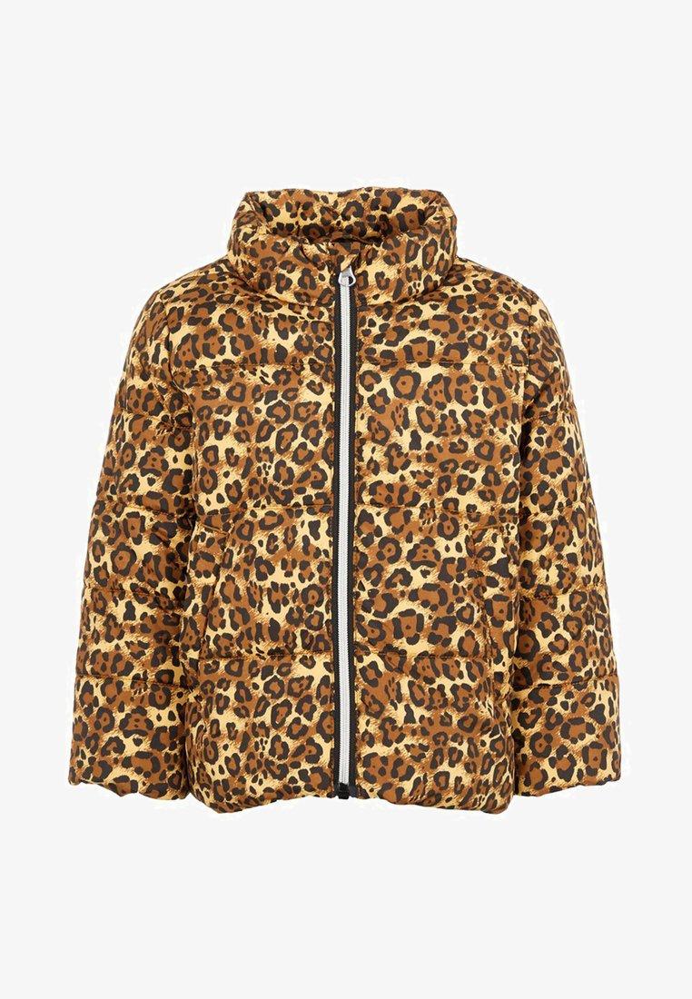 Name it - Winter jacket - bronze brown