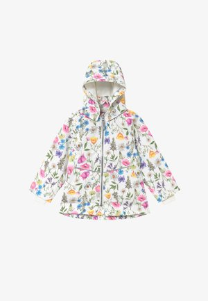 NMFMAXI FLOWER - Parka - snow white