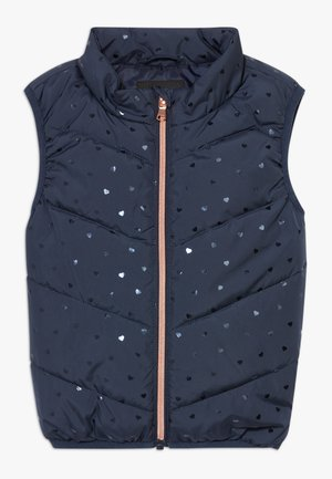 NMFMELINA PUFFER VEST - Smanicato - dress blues