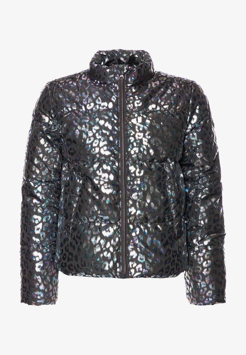 Name it - NKFMISTI FOIL PUFFER - Light jacket - asphalt