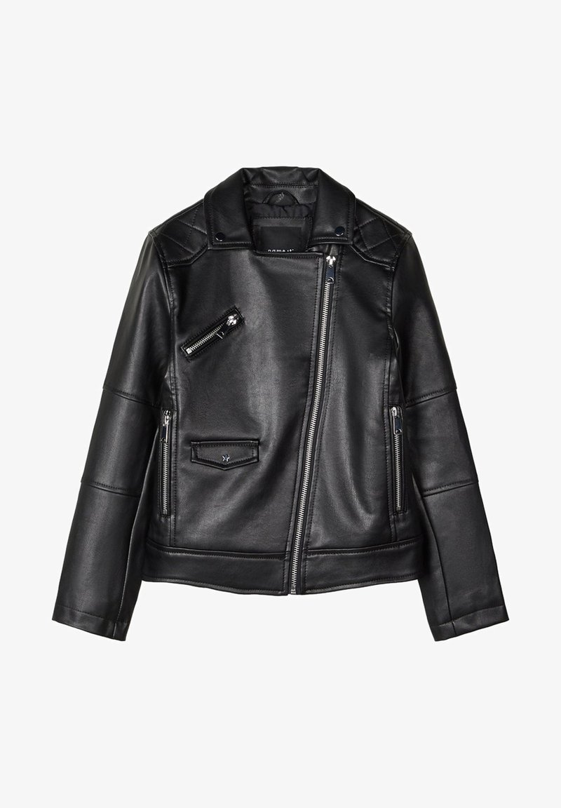 Name it - Faux leather jacket - black