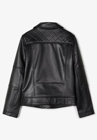 Name it - Faux leather jacket - black - 1